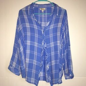 Hester & Orchard Plaid Button Down